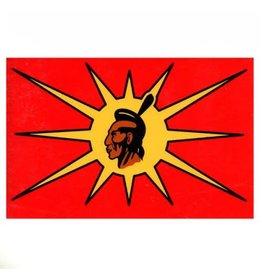 DRAPEAU IMPORT Flag OKA Mohawk