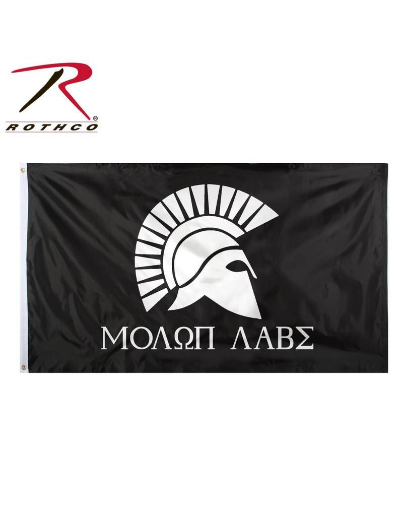 ROTHCO Rothco Molon Labe Flag