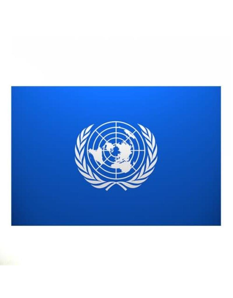 DRAPEAU IMPORT Drapeau Nations Unies L'ONU Quebec Montreal Canada