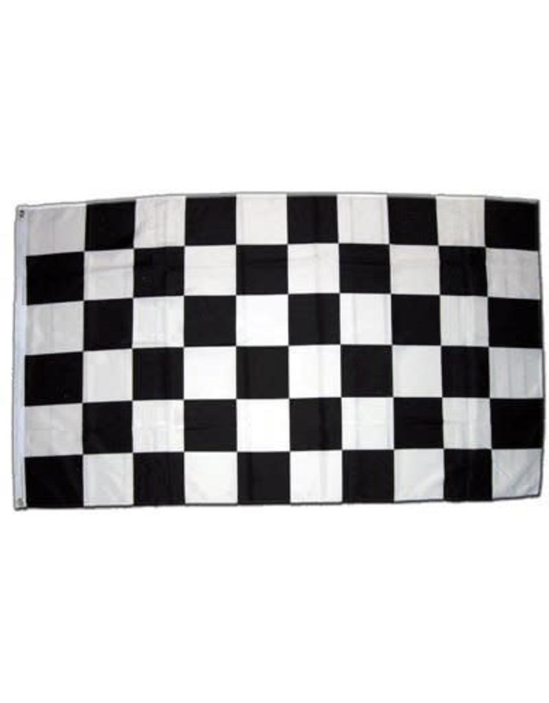 DRAPEAU IMPORT Damier Checker Racing Flag