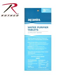 AQUAMIRA Aquamira Water Purification Tablets 20 Pack