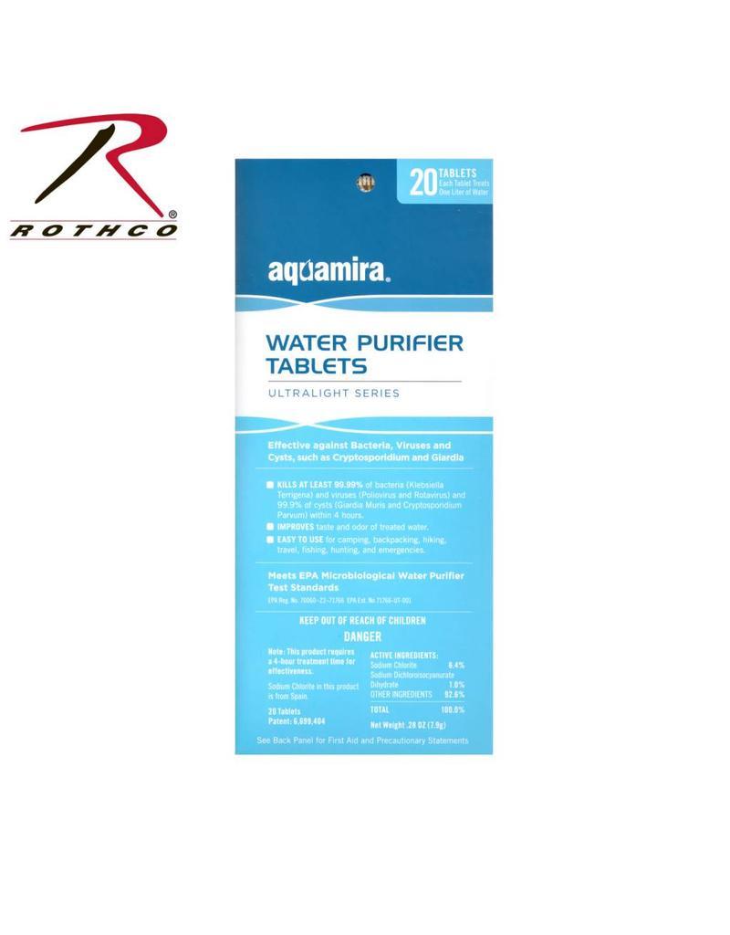 AQUAMIRA Aquamira Water Purification Tablets 20 Pack