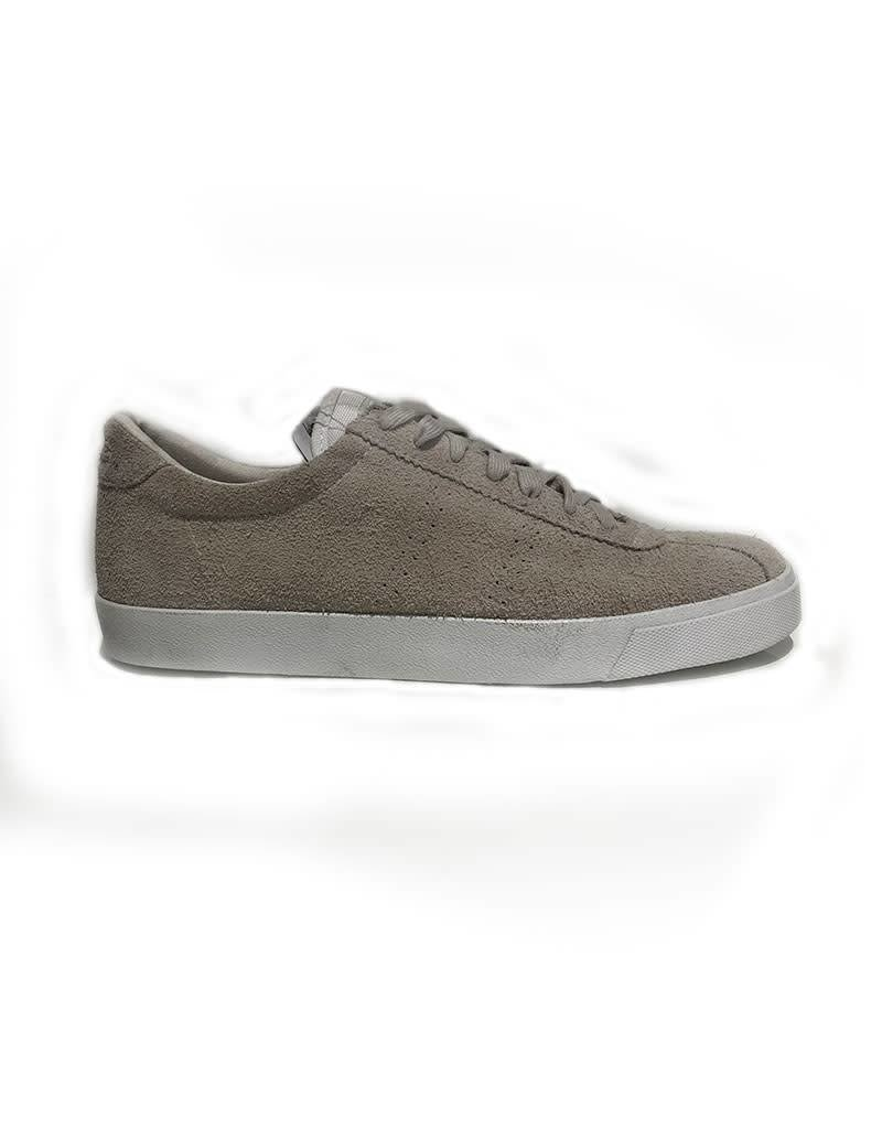 Superga Hairy Suede Sports Shoe | Total White