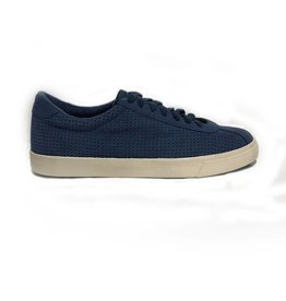 Superga Perforated Suede Sports Shoes | Blue