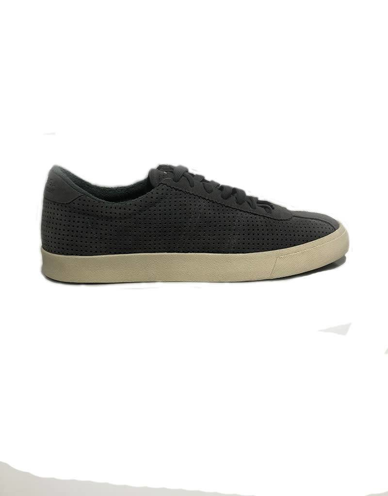 Superga Perforated Suede Sports Shoes | Grey Ash
