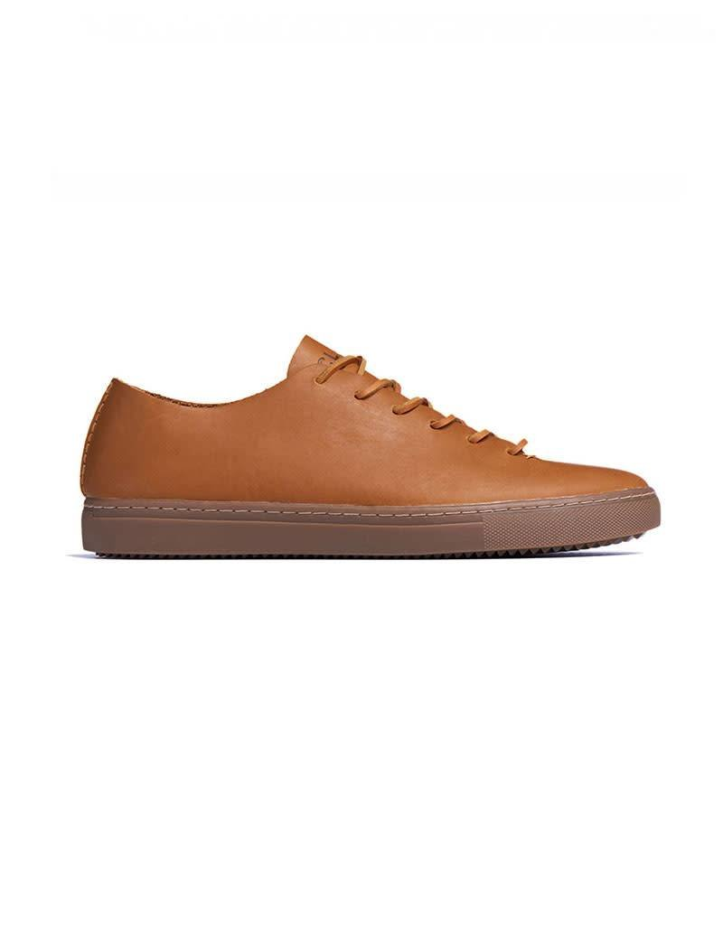 Clae One Piece Casual Leather Shoe | Tobacco