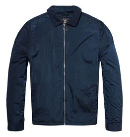 Scotch & Soda Lightweight Jacket In Shiny Technical Fabric | Bright Blue