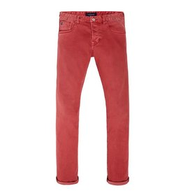 Scotch & Soda Ralston Jean | Garment Dyed | Chili Red
