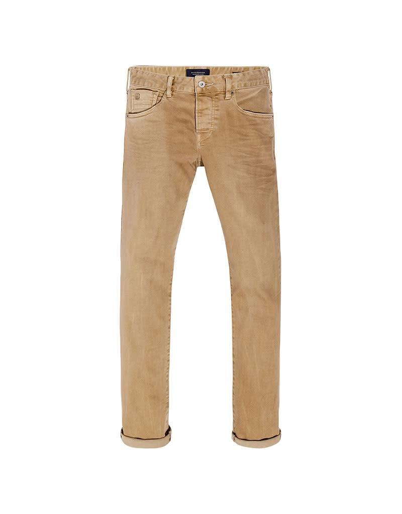 Scotch & Soda Ralston Jean | Garment Dyed | Khaki