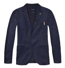 Scotch & Soda Chic Stretch Denim Slim Fit Suit Jacket | 141136