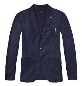 Scotch & Soda Chic Stretch Denim Slim Fit Suit Jacket | 141136