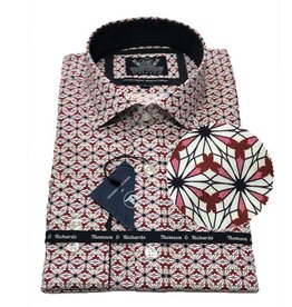 Thomson & Richards Hazard Dress Shirt | Red