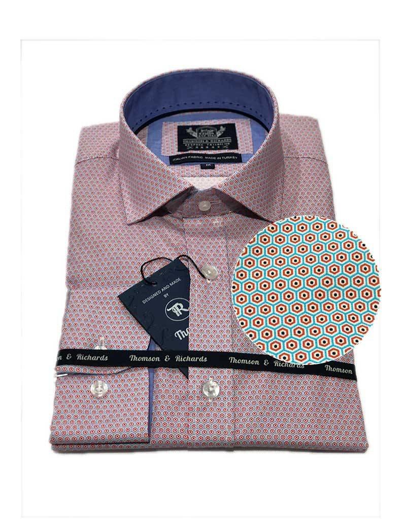 Thomson & Richards Pedro Dress Shirt | Sky
