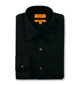 Ganton Slim Stretch Business Shirt | Black