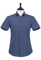 London Fog Margate Short Sleeve Shirt | blue