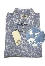 Ben Sherman Tailored Shirt | Light Blue Floral
