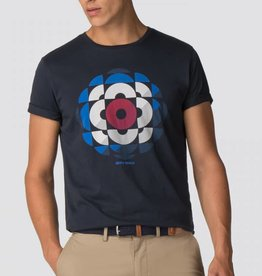Ben Sherman Kaleidoscope Graphic Tee Shirt  | Navy