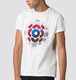 Ben Sherman Kaleidoscope Graphic Tee Shirt  | White
