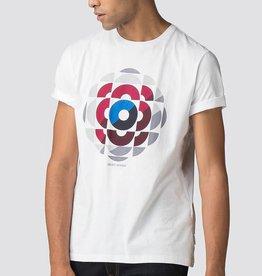 Ben Sherman Kaleidoscope Graphic Tee Shirt  | White