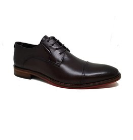 Ferracini Isreal Dress Shoe | Tobacco
