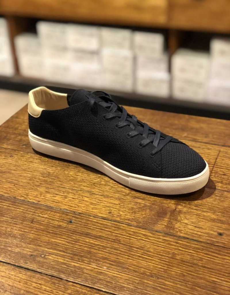 Clae Ellington Textile | Black Waxed Cotton