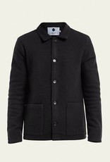 No Nationality Boiled Wool Jacket | Charcoal