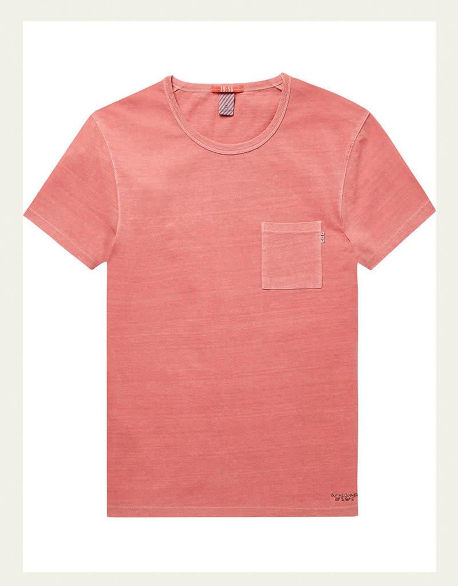 Scotch & Soda Garment Dyed Regular Tee 144216 | Safran