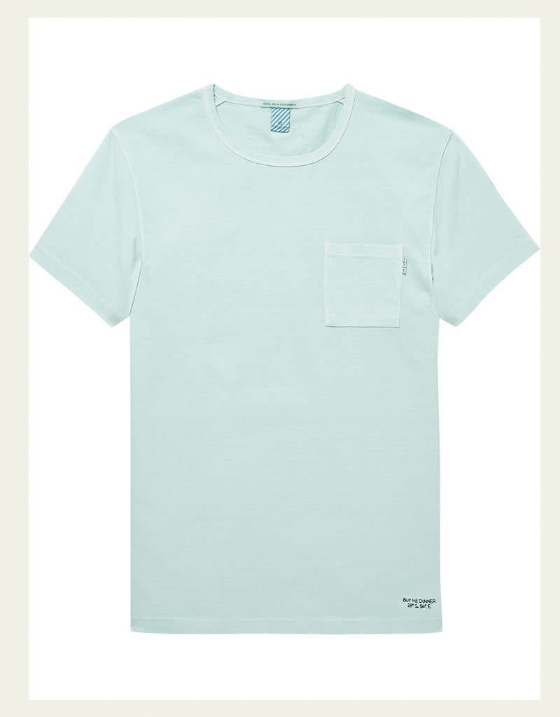 Scotch & Soda Garment Dyed Regular Tee 144216 | Mint
