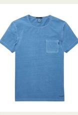 Scotch & Soda Garment Dyed Regular Tee 144216 | Blue Dusk
