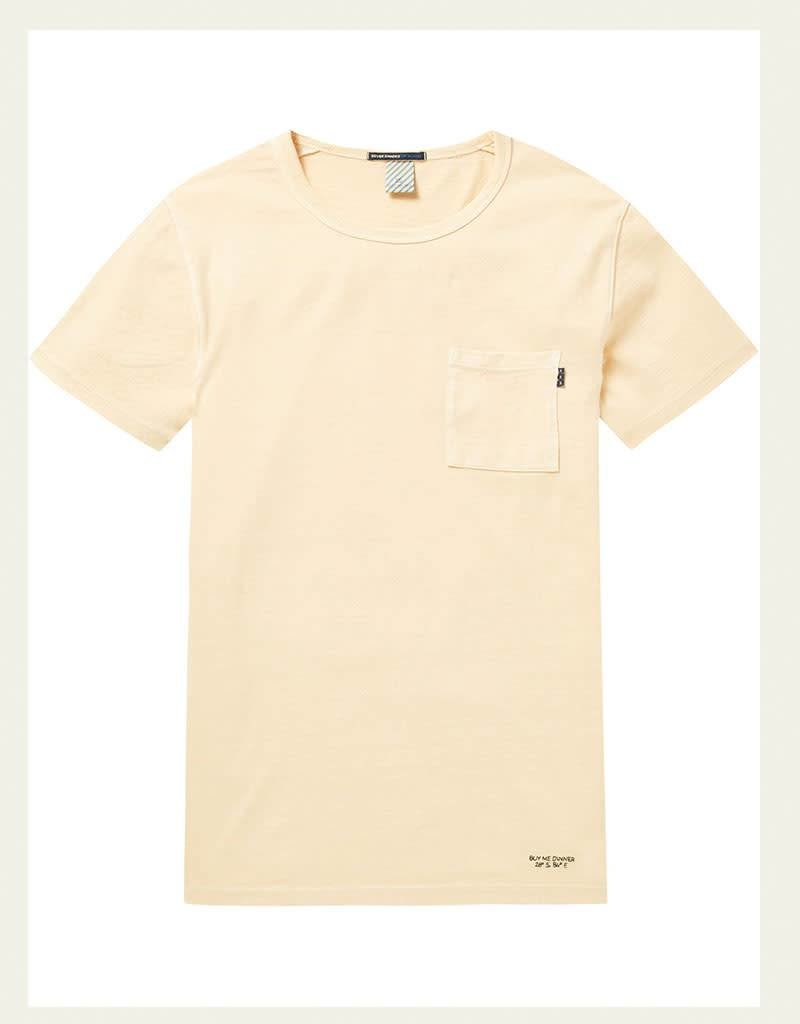 Scotch & Soda Garment Dyed Regular Tee 144216 | Sunset