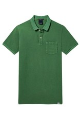 Scotch & Soda Garment Dyed Polo 144241 | Alpine Green