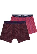 Scotch & Soda Classic Boxer Short 145130 | Raspberry