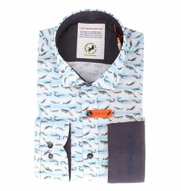 A Fish Named Fred Small Whales Shirt