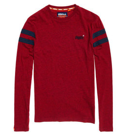 Superdry Orange Label Long Sleeve Ringer | Redhood Grit