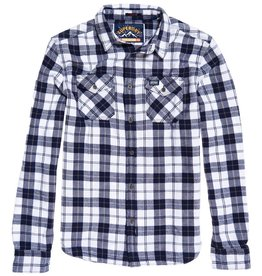 Superdry Rookie Ridge Shirt | Navy Twill