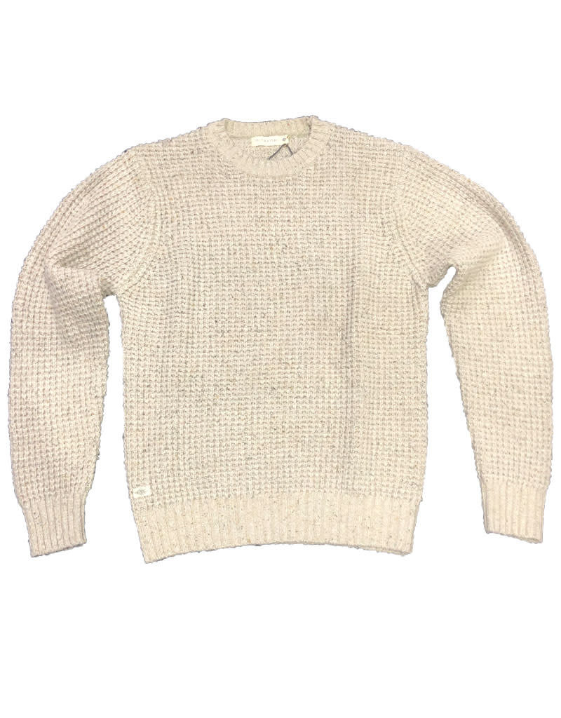 McTavish Cotton Knit Jumper | Golden Oatmeal
