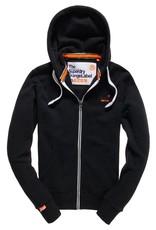 Superdry Orange Label Lite Zip Hoodie | Light Marine Indigo