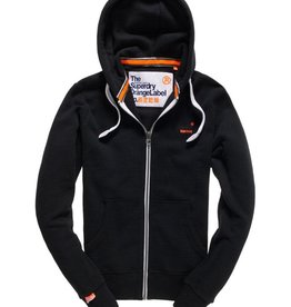 Superdry Orange Label Lite Zip Hoodie | Light Marine Indigo