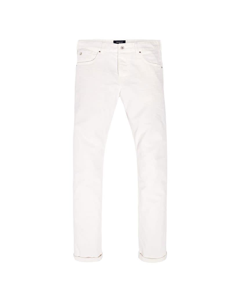 Scotch & Soda Ralston Jean Garment Dyed | Optic White