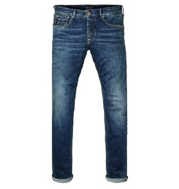 Scotch & Soda Ralston Jean Garment Dyed | Indigo Denim