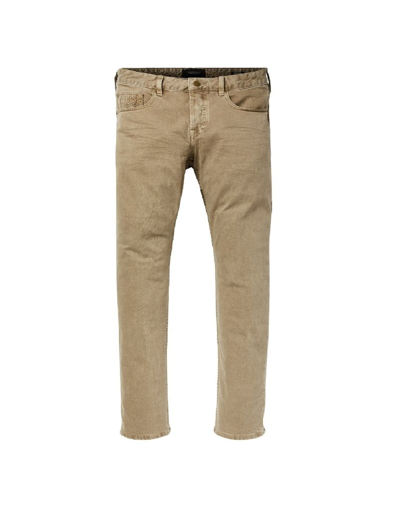 Scotch & Soda Ralston Jean Garment Dyed | Sand