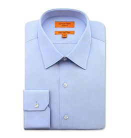 Ganton Slim Stretch Business Shirt | Blue Sky