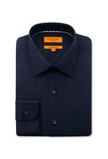 Ganton Slim Stretch Business Shirt | Navy