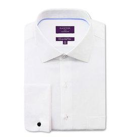 Ganton Luxury Twill - French Cuff | White