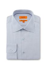 Ganton Slim Textured Business Shirt | Blue