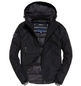 Superdry Padded Elite Windcheater | Black