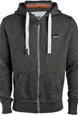 Superdry Orange Label Lite Zip Hoodie | Cavern Grey Grindle Medium