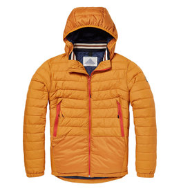Scotch & Soda Quilted Nylon Jacket | Jagger Yellow