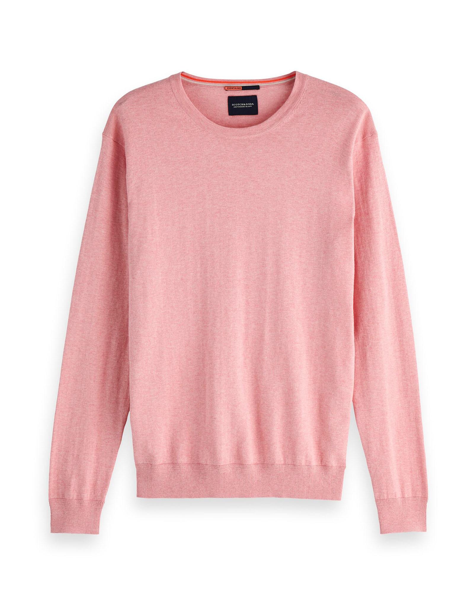 Scotch & Soda Cotton Cashmere Knit | Pink Floss