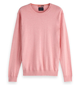 Scotch & Soda Cotton Cashmere Knit | Pink Floss